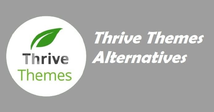 Best Thrive Themes Alternatives
